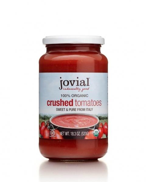 jovial organic crushed tomatoes