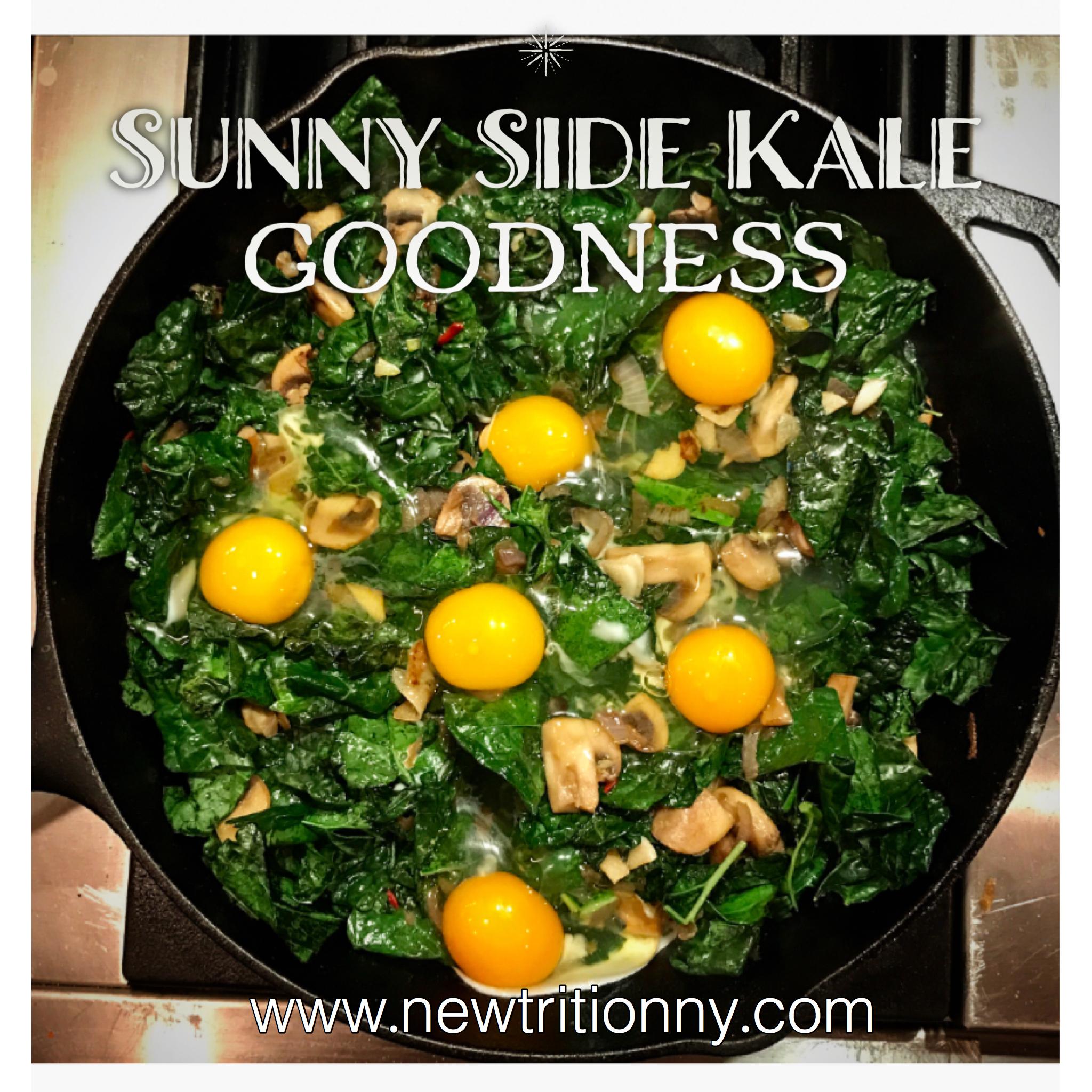 sunny side kale goodness - www.newtritionny.com