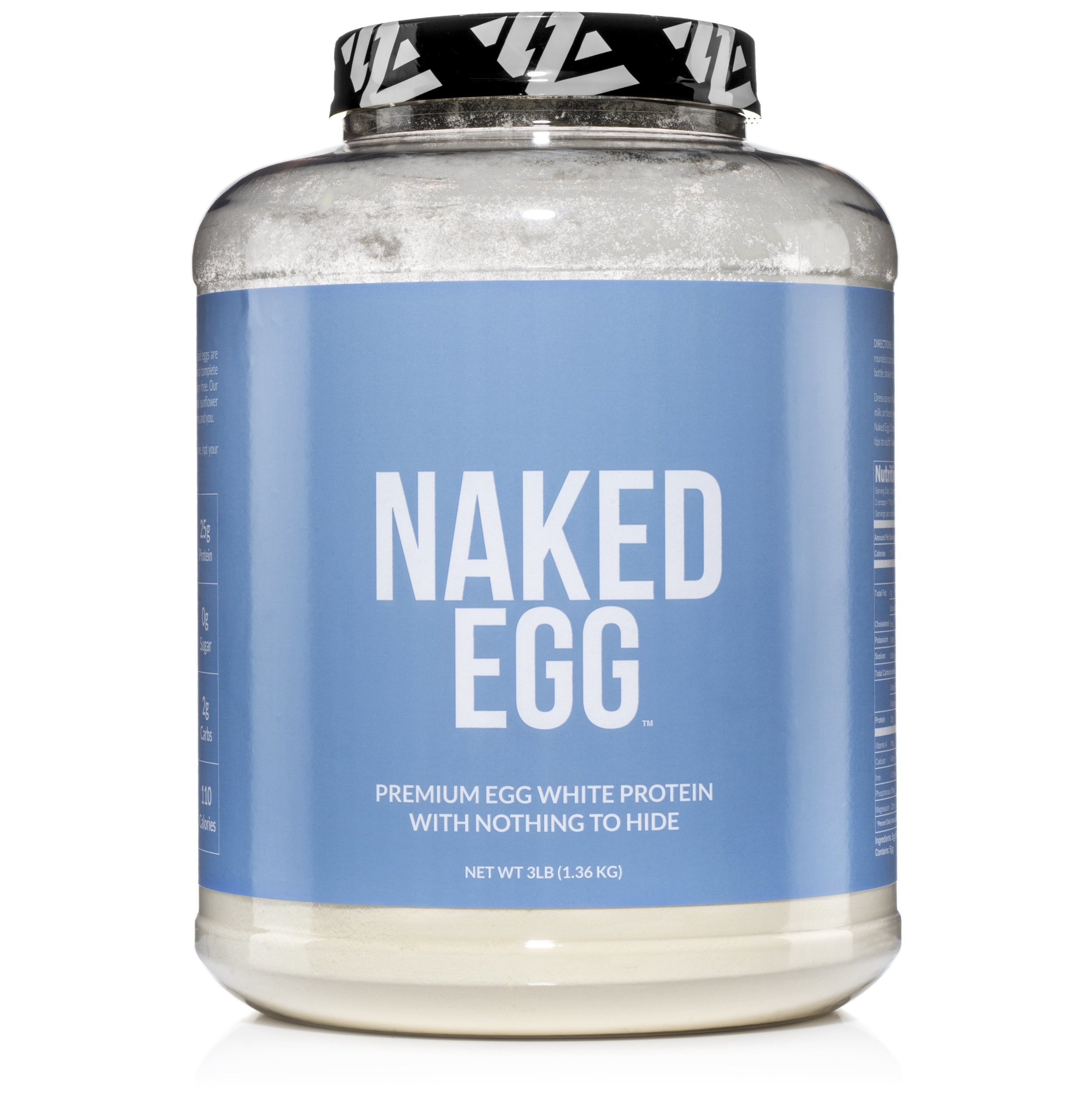 NAKED Egg White Protein Powder - - Sourced Exclusively from US Farms- Eggs sourced exclusively from US farms and processed in under a day to maintain highest nutritional value- Excellent Paleo protein source with no additives.- Dairy-free; gluten-free; soy-free; & non-GMO▶️ to choose a flavor, click on one of the options below:🥚 Unflavored🌱 Vanilla🍫 Chocolate