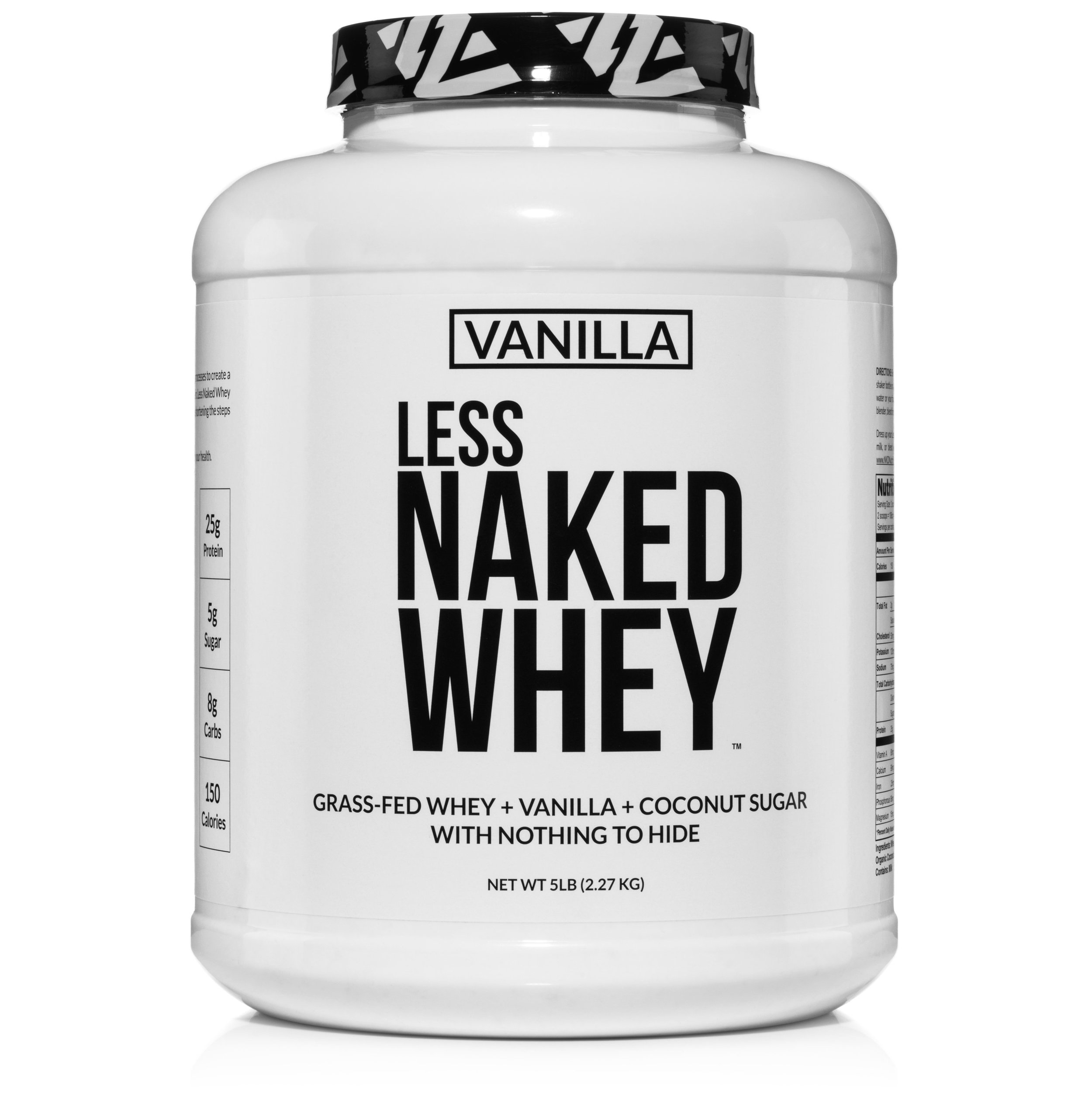 NAKED Whey Protein Powder - - 100% Grass Fed Cows' Milk From Small California Dairy Farms- Cold, acid- and bleach-free processing with no artificial flavors, colors, or sweeteners- Non-GMO, soy-free, gluten-free, growth hormone-free, rBGH- and rBST-free▶️ to choose a flavor, click on one of the options below:🐮 Unflavored🌱 Vanilla🍫 Chocolate🍓 Strawberry