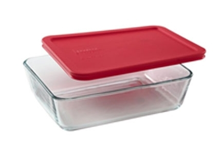 PYREX6-Cup Food Storage (Pack of 4) - The up side is that these are the most economical choice. The down side is that they do not have