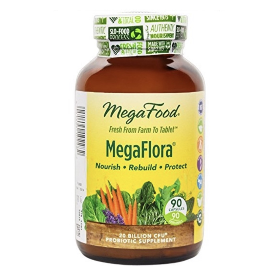 MEGAFOOD MegaFlora Probiotic - best probiotic for weight loss