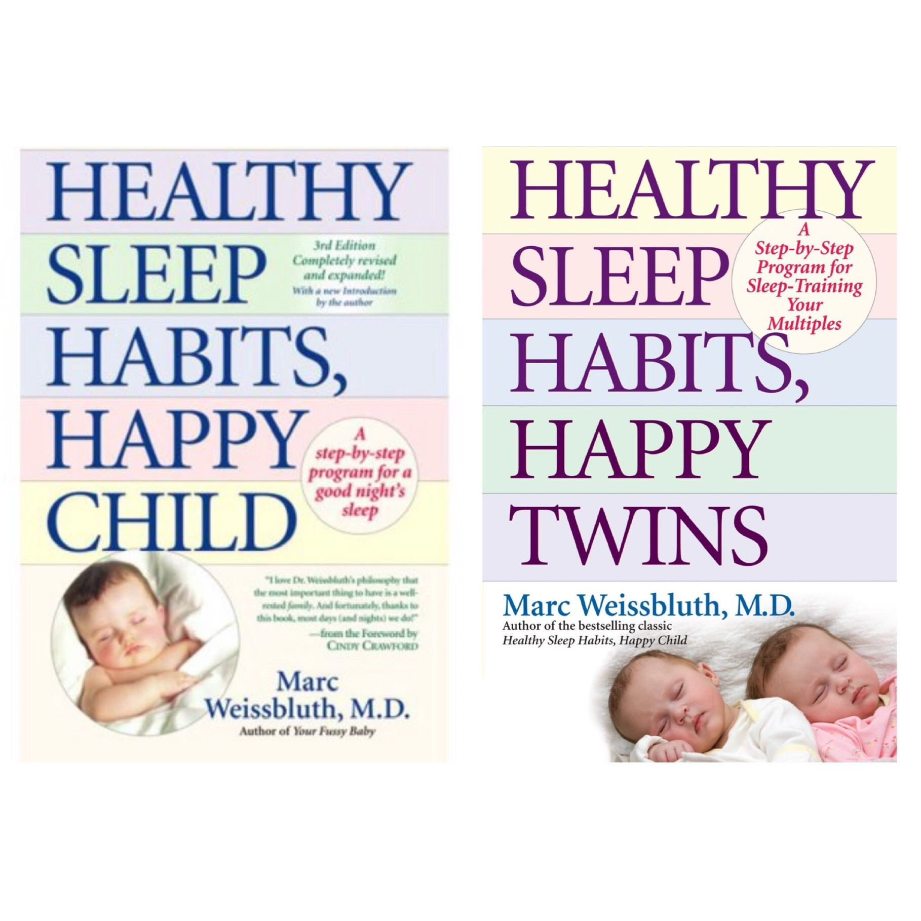 HEALTHY SLEEP HABITS, HAPPY CHILDby Marc Weissbluth, M.D. - sleep training bible by Reknowned guru, Dr. Marc Weissbluth▶️ For Twins - Click HERE