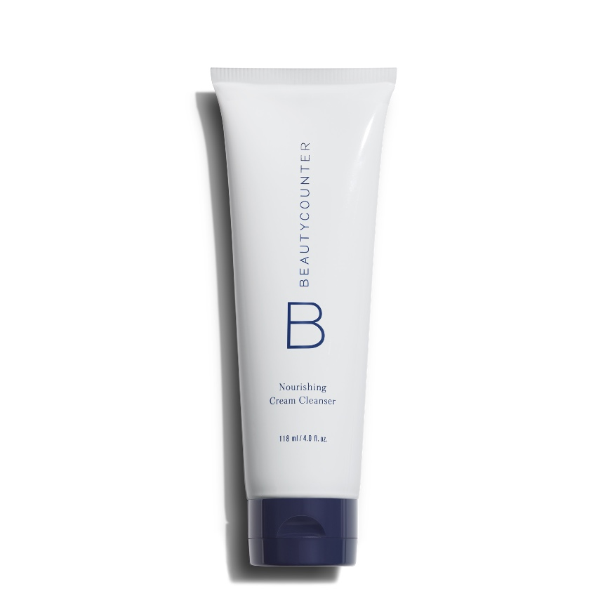 BEAUTYCOUNTER Nourishing Cream Cleanser - Soothe and nourish skin as you wash away makeup and impurities with this gentle daily cleanser. The lightweight, creamy formula can be massaged onto wet or dry skin and used on the delicate eye area, too. Made without harsh surfactants or sulfates, it also tones skin with witch hazel and hydrates with coconut oil and aloe.