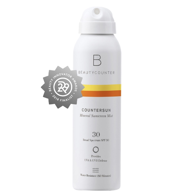 BEAUTYCOUNTER Countersun Mineral Sunscreen Mist SPF30 - - formulated with non-nano zinc oxide and antioxidant-rich California Poppy- protects against damaging UVA, UVB and Blue Light- lightweight, water-resistant formula that does not streak or leave any white residue- air-powered, sprays at any angle- reef-friendly- hands down, the safest and most effective sunscreen on the market▶️ for TRAVEL SIZE, click HERE 💼▶️ for TINTED SUNSCREEN SPRAY (to make you look darker and more even toned), click HERE 💼Shop RISK FREE! Return anything with no questions asked within 60 days. You even get return shipping free!SUBSCRIBE to my newsletter and get a $15 Gift Certificate for Beautycounter products.