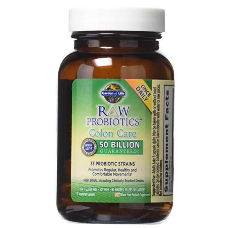 GARDEN OF LIFE Raw ProbioticsColon Care - best daily probiotic for general health