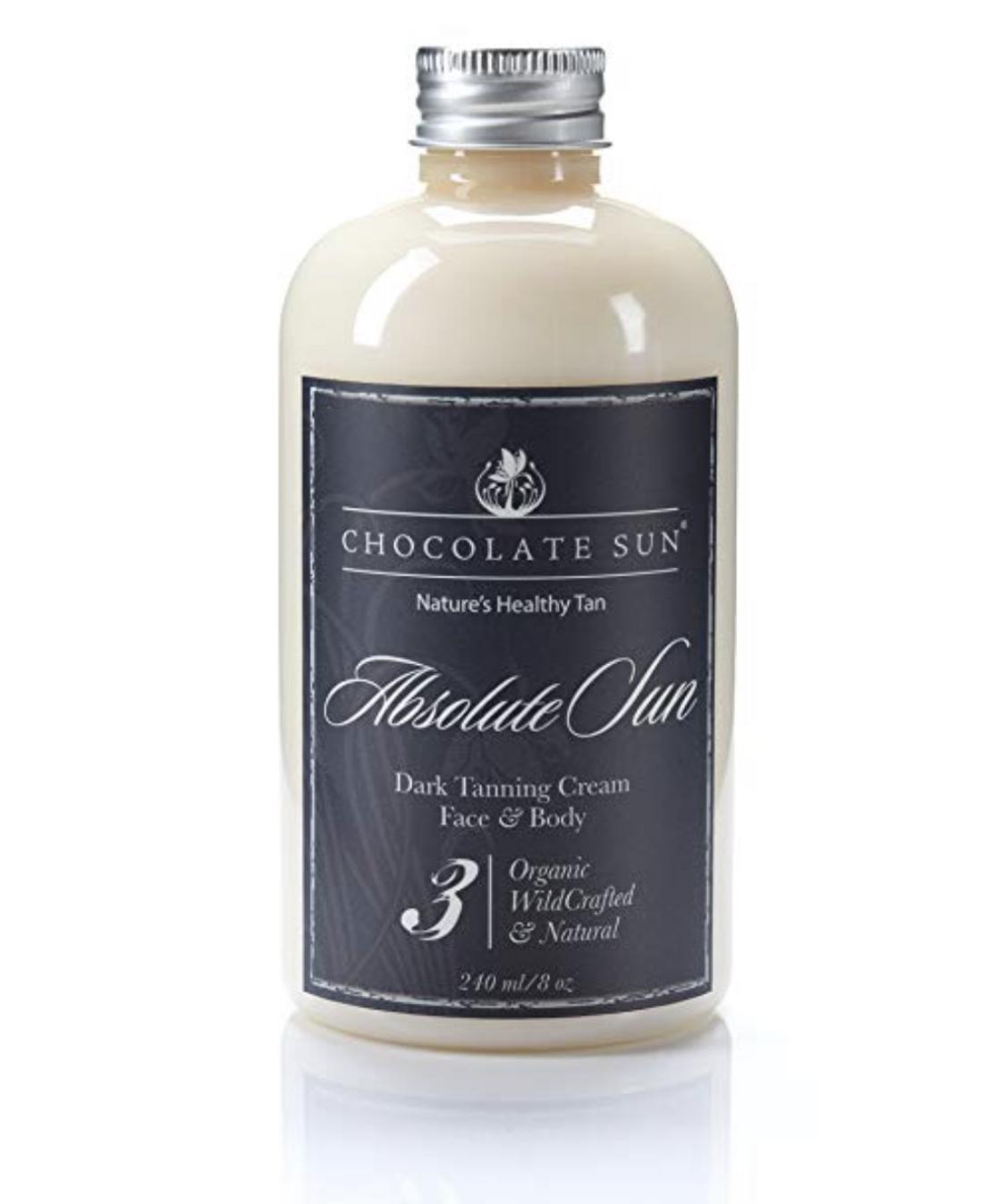 CHOCOLATE SUNAbsolute Sun Tanning Cream -