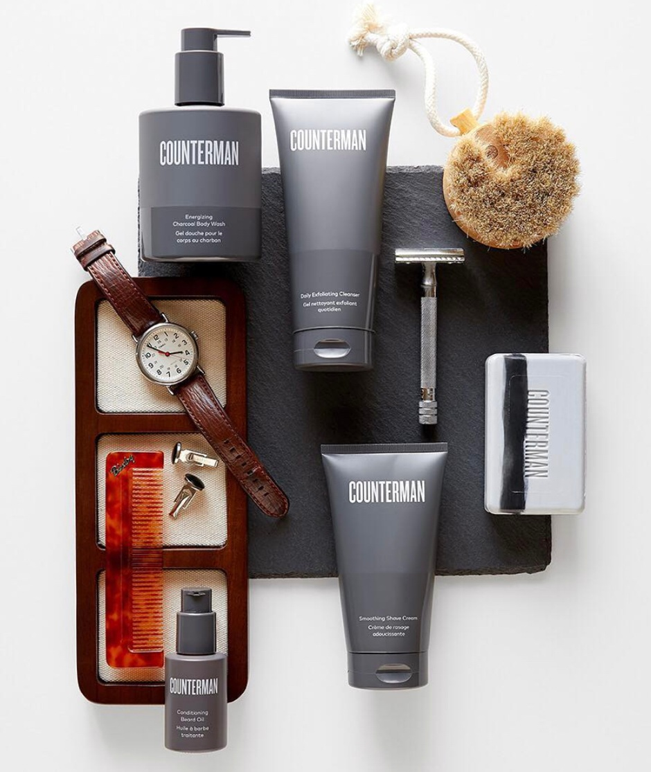 COUNTERMAN Men's Safer Skincare Products -