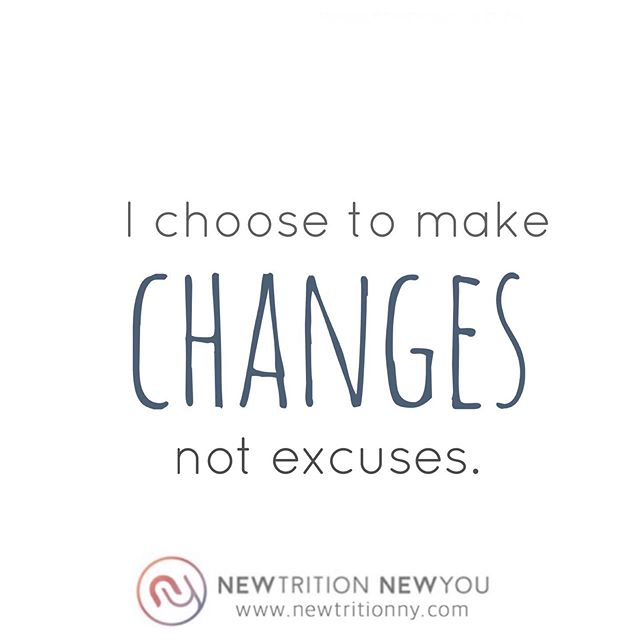 Have your excuses helped or hindered your ability to reach your goals? . Having known and worked with many successful people, I can confidently report that excuses had nothing to do with their accomplishments. You know what did? . 👉Action 👉Execution 👉Hard work . It turns out that we all have the same number of hours every day, so the important thing to remember is that progress and excuses are mutually exclusive. You can only choose one. . Each time you use an excuse to rationalize (to others or yourself) why you aren't doing what you're supposed to be doing, you're taking a step backwards and sabotaging your own goals and dreams. The more frequent the excuses, the less likely it is that you ever get what you want. . Prioritize accordingly. Lose the excuses and make a plan. I can help, so reach out. . The bottom line is this: YOU CHOOSE! You always choose. . 🤗Sharing is caring!  Have any friends who need to hear this? Tag them on this post so we can all #knowbetterdobetter . 📬Sign up for my newsletter so that you never miss a post (tap on link in my bio & then on this same post) . . . . #noexcusesnoregrets #itsnotadietitsalifestyle #chooseprogress  #progressorexcuses #changeyourmindsetchangeyourlife #choosewisely #thetimeisnow #believeyoucan #noexcuses #justdoit✔️ #howbaddoyouwantit #whateverittakes #foodforthought #nothingyoucantdo  #mindovermatter #wisewords #yesyoucan #wisdom #fitfam #newtritionny #newyou #newtritionnewyou #fitgirls #motivation #inspiration #positivevibes #bikinibody #positivemind #healthylifestyle http://bit.ly/360DegreesOfWellnessNews