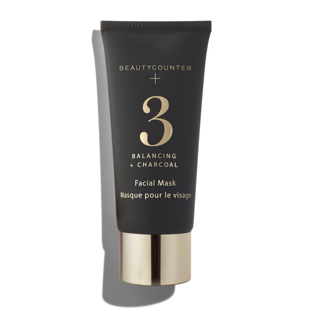 BEAUTYCOUNTER No. 3 Balancing Charcoal Mask - This nutrient-rich kaolin clay mask deep-cleans and balances, absorbing excess oil and drawing out impurities. Activated charcoal minimizes the appearance of pores, giving skin a smooth, refined appearance, while salicylic acid stimulates exfoliation. Perfect for those concerned with congestion and oily skin.Detoxifies and minimizes pores and absorbs excess oil while making the skin look smoother, clearer, and more even-toned.Shop RISK FREE! Return anything with no questions asked within 60 days. You even get return shipping free!SUBSCRIBE to my newsletter and get a $15 Gift Certificate for Beautycounter products.