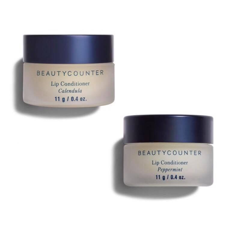 BEAUTYCOUNTER Lip Conditioner - This conditioning and quenching lip formula comes in two flavors:- Calendula Balm, a subtly sweet formula that soothes chapped lips, and- Peppermint Balm, which provides a refreshing, cooling effect.Buy separately or as a set of two and save!Shop RISK FREE! Return anything with no questions asked within 60 days. You even get return shipping free!SUBSCRIBE to my newsletter and get a $15 Gift Certificate for Beautycounter products.
