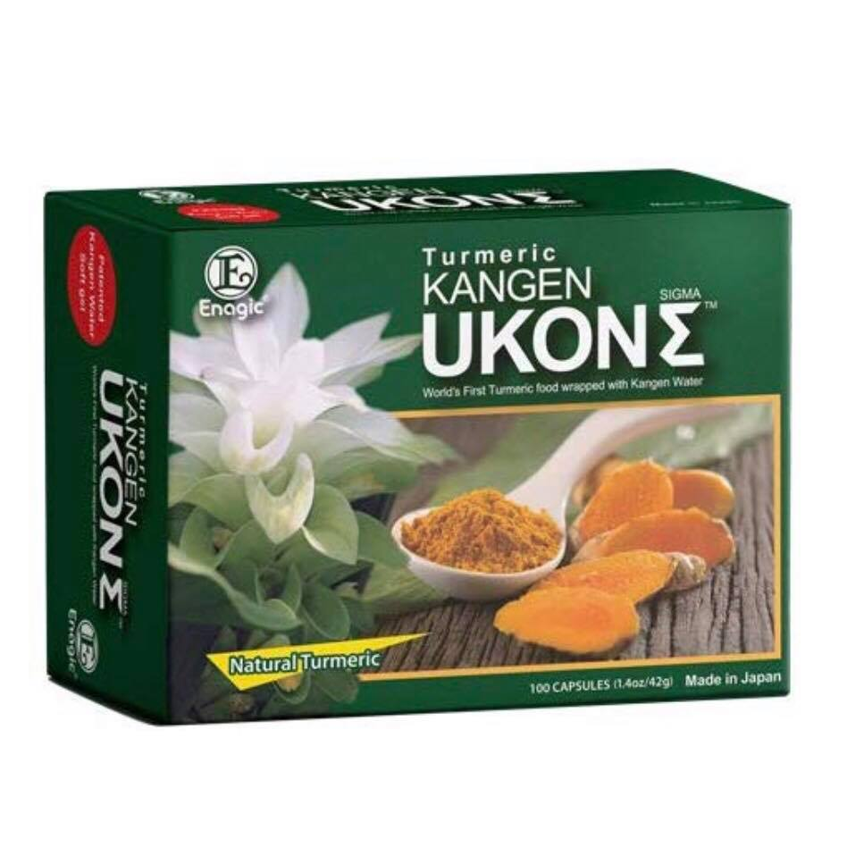KANGEN UKON™ 100% Organic Turmeric Supplement - If you don't have access to turmeric or just don't have the time to make the drink every day, the KANGEN UKON™ turmeric supplement is the next best thing. It is harvested and produced in Okinawa, Japan, the Japanese island known for the longevity of its people and for growing the world's best turmeric. KANGEN UKON™ patented softgels are encased with six different healthy oils to maximize absorption and bioavailability. LEARN MORE about what sets this turmeric supplement apart from any other on the market.