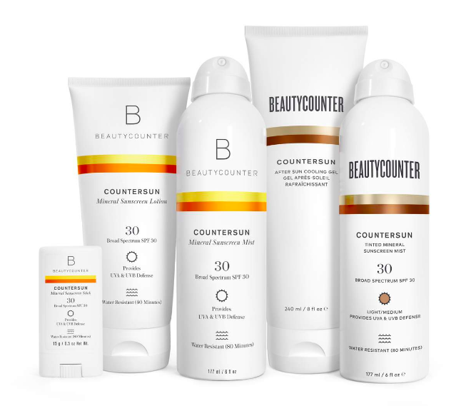 BEAUTYCOUNTER Countersun Sunscreens with SPF30 - If you're looking for a safer sunscreen that works, goes on without chalky residue, and moisturizes your skin, these are hands down the best.! They have been touted in countless magazines, recommended by doctors, and tried out and loved by ME!Subscribe to my newsletter and get a $15 Beautycounter Gift Certificate!