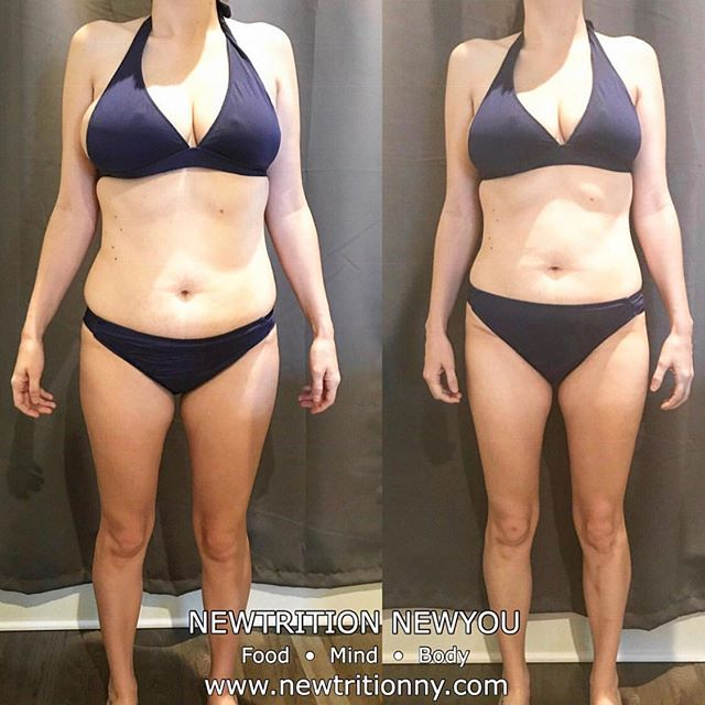 "My client sent in her weekly photos and wrote: . ""Literal tears on scale this morning. I can't believe I'm on the cusp of my initial goal with MONTHS left in the program! I haven't been this excited in a long time.  Thank you!"" . No, my dear, thank YOU for trusting the process and allowing me the opportunity to help you achieve your goals. This is what I live for! . Best part?  We're just getting started. I can't wait to see you a few months from now! . Find out more about me or schedule a consultation: ☎️917-773-8095 📧info@newtritionny.com 💻www.newtritionny.com . . . . . #morethanweightloss #selflove #insideouttransformation #itsnotadietitsalifestyle #weightloss #loseweịght #fitgirls #choosehappy #managestress #trainandtransform #diet #getfit #fitfam  #weightlosstransformation #goalaccomplished✔ #newyouprogram #newtritionnewyou #newyou #newtritionny #progress #bikinibody #inspiration #fatloss #weightlossjourney #changeyourlife #loseweightforgood #weightlossmotivation #loseweightfromtheinsideout"