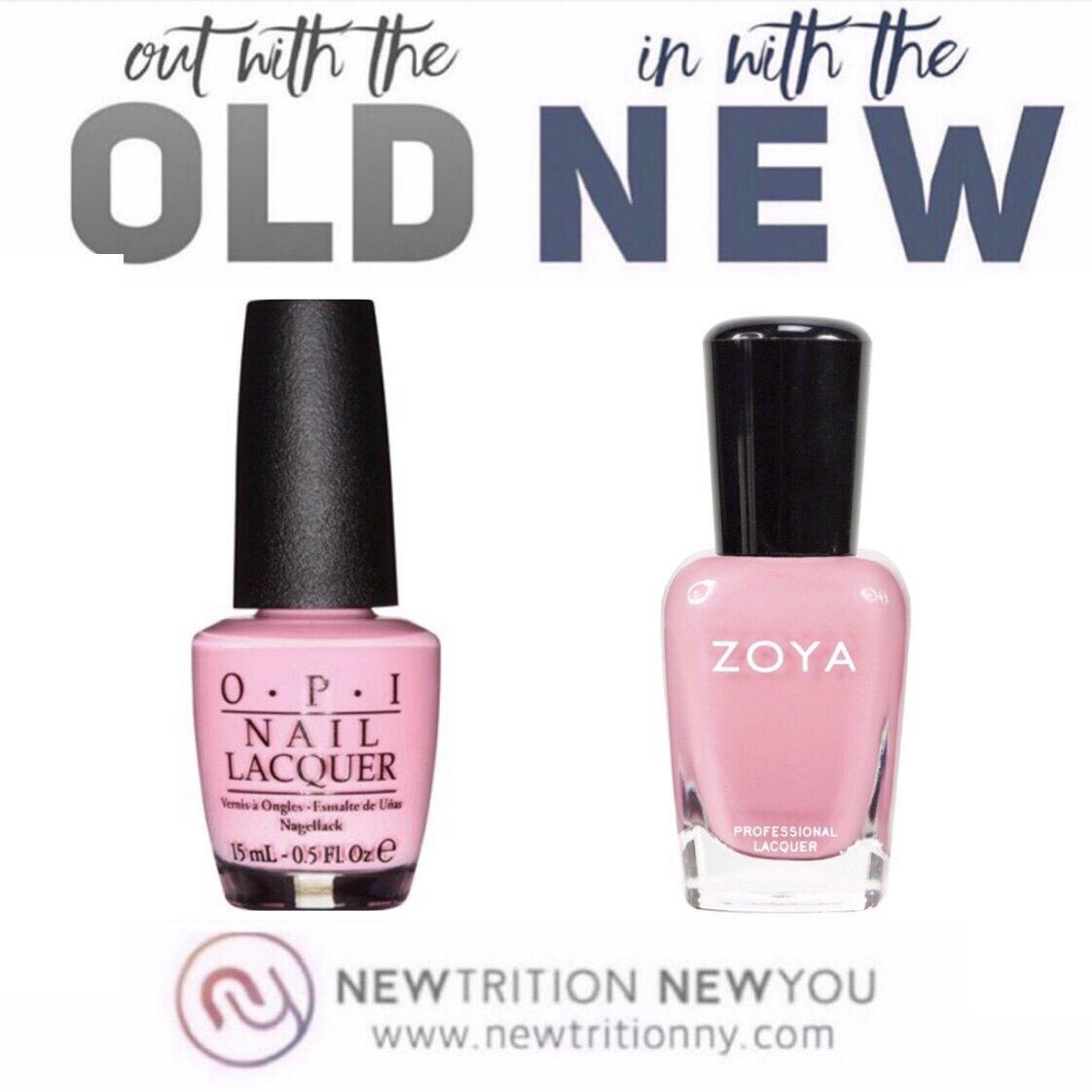 Clean Swap your nail color - Zoya Non Toxic Nail Polish Colors