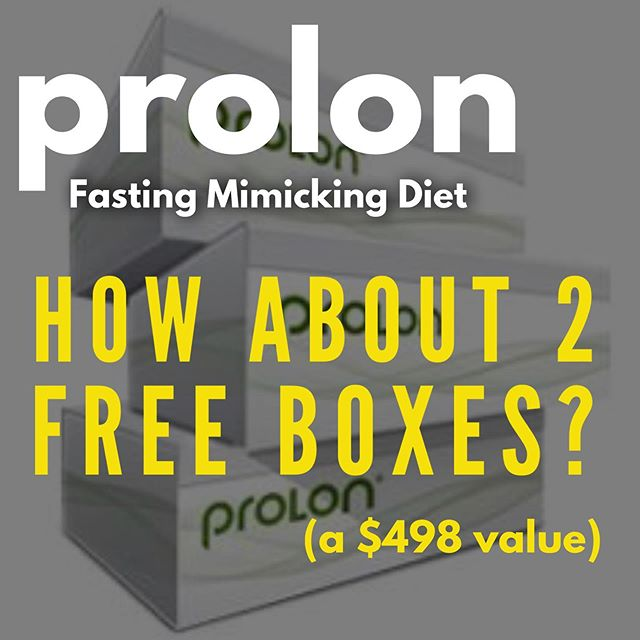 """Ever thought about trying  the #ProLon #FastingMimickingDiet (FMD)? Or doing another round bc it made you feel so good? . Check back tomorrow for the BIGGEST PROLON SALE & promotion I've ever had!!! Just for my followers and VIPs! . If you're afraid you might miss the big announcement, sign up for my newsletter by taping on the link in my bio & then clicking this image.📬 The special link to take advantage of the sale will be sent out at 5am tomorrow morning! Check your SPAM! . 💁♀️WHAT IS PROLON? A clinically tested 5-day restricted calorie dietary regimen shown to induce the health benefits of a water fast (e.g., healthy aging, cell regeneration, & fat-driven weight loss), but without the same discomfort & risks. . And no, it's not some fad diet, but a scientifically proven meal program developed by one of the world's leading longevity researchers, Professor Valter Longo, Director of the Longevity Institute at USC & one of Time Magazine's 50 Most Influential People in Healthcare. . ProLon is much more than a diet, detox, or cleanse. It's a reboot for all that's not working right in your body & a fresh start, mentally & physically. . 💁♀️WHAT ARE THE HEALTH BENEFITS? 👙Shed lbs FAST, especially dangerous visceral fat 🌸Rejuvenate & rebuild your body from within 🦠Stimulate atophagy: process of killing off defective organ parts & tissues, damaged & precancerous cells 🔬Activate """"miracle"""" stem cells 🙌 Improve sleep, energy, skin, & focus ⤵️Reduce Inflammation 🏋️♂️Look, feel, & perform better 🍕Zap unhealthy eating habits & cravings . LEARN MORE! 👉Check out my Story Highlights 👉 Read about my own experiences with ProLon (tap on link in bio, swipe 1 left & click on #3) 👉DM me . . . . . #prolondiscount #prolonreview #proloncoupon #prolonsale #fastingforhealth #fastingforweightloss #fasterwaytoweightloss #fasting #waterfasting #healthyliving #intermittentfasting #fastingtips #loseweightfast #prolonresults #antiaging #prolonexperience #fitover40 #fitover50 #newyou #bikinibody #lo"""