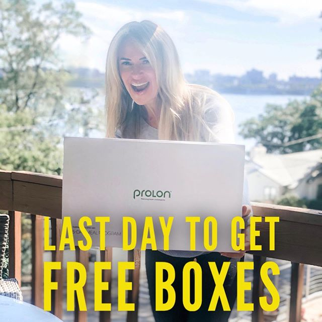 "LAST DAY of my VIP sale on #ProLon #FastingMimickingDiet (FMD)—the biggest promo ProLon has ever seen!😭 . WHAT PROMO?😳 📦📦🎁Use my link in bio (then tap this image to access the sale) & take home a FREE BOX of #ProLonFMD when you buy 2 at regular price ($249 value). . Stock up or share the cost with your friend(s)! . BUT WAIT, THERE'S MORE!☝️ 🎁DM me your order # & you'll be entered into a drawing for another FREE BOX! 🙌 . You'll shed pounds and detox your body while improving your health & rejuvenating you body from within. . But ProLon is much more than a detox or cleanse. It's a reboot for all that's not working right in your body & a fresh start, mentally & physically. . WHAT IS IT? 💁‍♀️ Clinically tested 5-day restricted calorie dietary regimen shown to induce the health benefits of a water fast (e.g., healthy aging, cell regeneration, & fat-driven weight loss), but without discomfort & risks. . And no, it's not some fad diet, but a scientifically proven meal program developed by one of the world's leading longevity researchers, Professor V. Longo, Director of the Longevity Institute at USC & one of Time Magazine's 50 Most Influential People in Healthcare (go ahead, google him!) . HEALTH BENEFITS? 💁‍♀️ 👙Shed lbs FAST, esp dangerous visceral fat 🌸Rejuvenate & rebuild your body from within 🦠Stimulate atophagy: process of killing off defective organ parts & tissues, damaged & precancerous cells 🔬Activate ""miracle"" stem cells 🙌 Improve sleep, energy, skin, & focus ⤵️Reduce Inflammation 🏋️‍♂️Look, feel, perform better 🍕Zap unhealthy eating habits & cravings . LEARN MORE! 👉Check out my Story Highlights 👉 Read about my own experiences with ProLon (tap on link in bio, swipe 1 left & click on #3) 👉DM me . . . . . #prolondiscount #prolonreview #proloncoupon #prolonsale #fastingforhealth #fastingforweightloss #fasterwaytoweightloss #fasting #waterfasting #healthyliving #intermittentfasting #fastingtips #loseweightfast #prolonresults #antiaging #prolonexperience #fitover40 #fitover50 #newyou #bikinibody #loseweightfast #fitgirl #fitover60 #prolongedfasting #resetdiet #jumpstart #jumpstartyourweightloss http://bit.ly/ProlonFast"