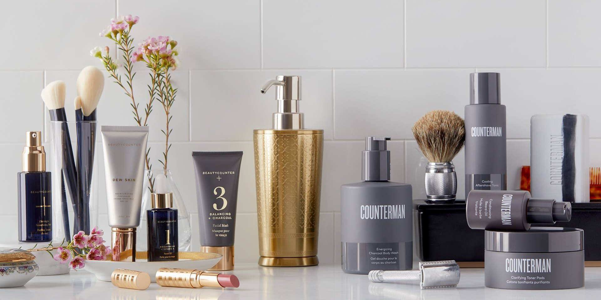 BEAUTYCOUNTERSafer Personal Care Products for Men, Women, and Children - - Skincare- Cosmetics- Bath, Body , & Hair- Baby and Kids- Men's Line- Limited Edition Holiday Gifts