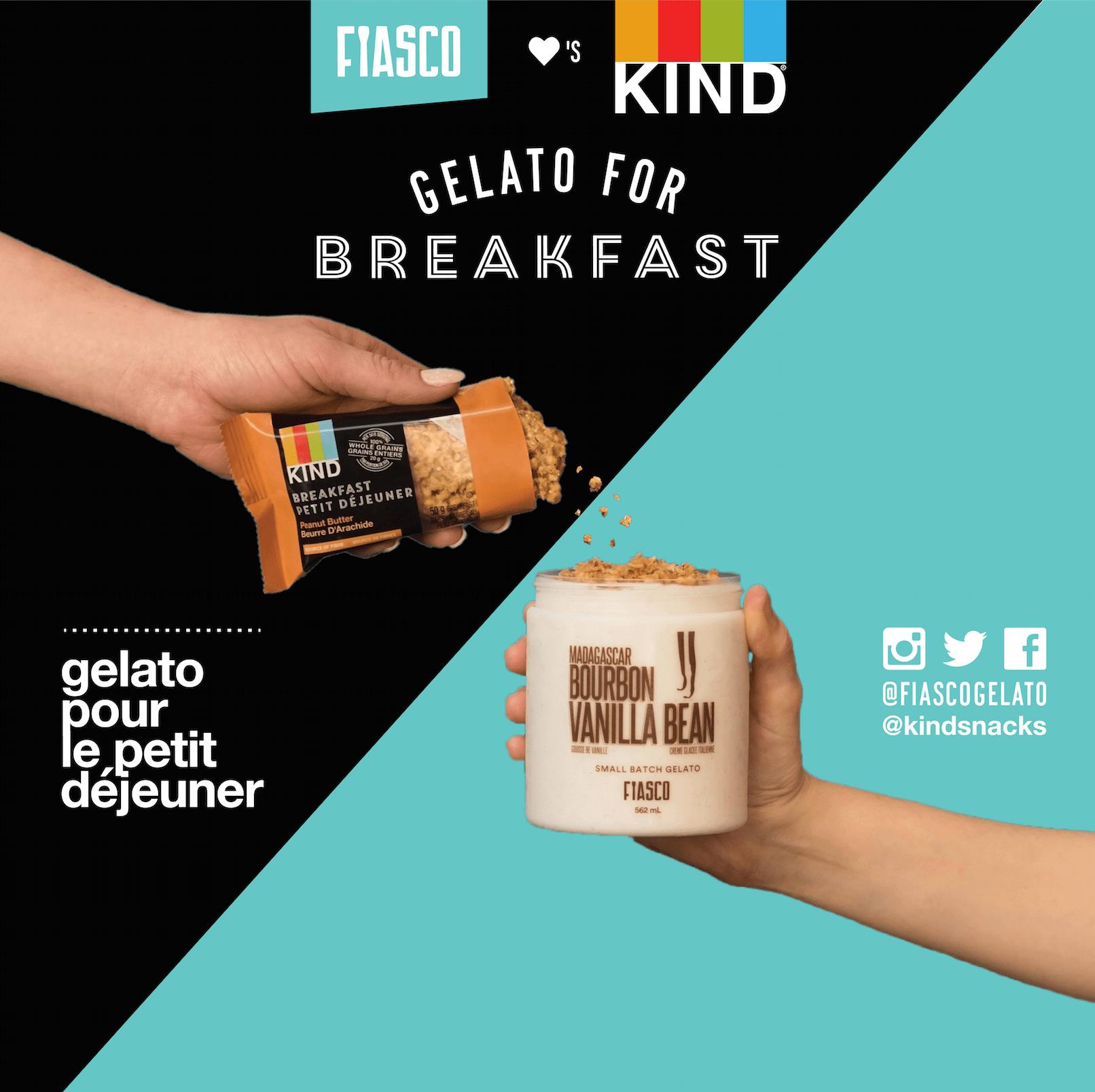 FIASCO X KIND - GELATO FOR BREAKFAST