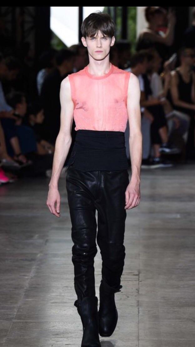 Ann D as seen on Vogue runway
