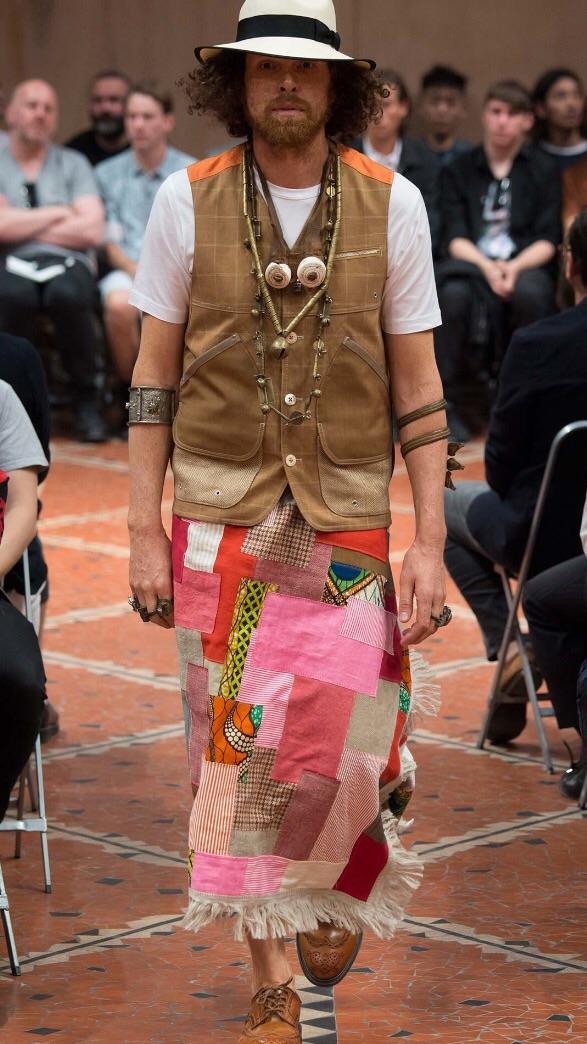 Junya photo from Vogue runway