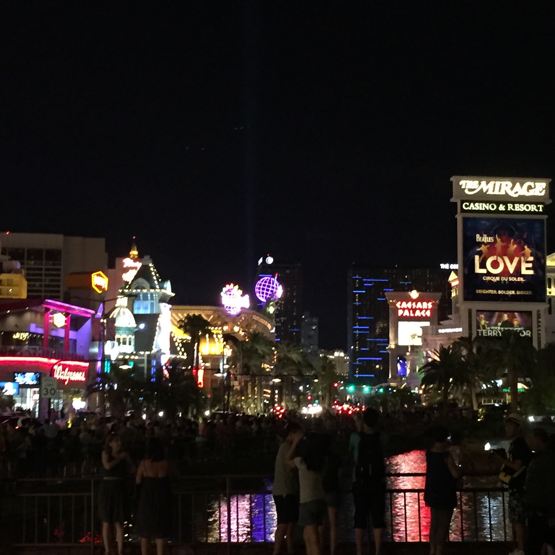 Streets glow