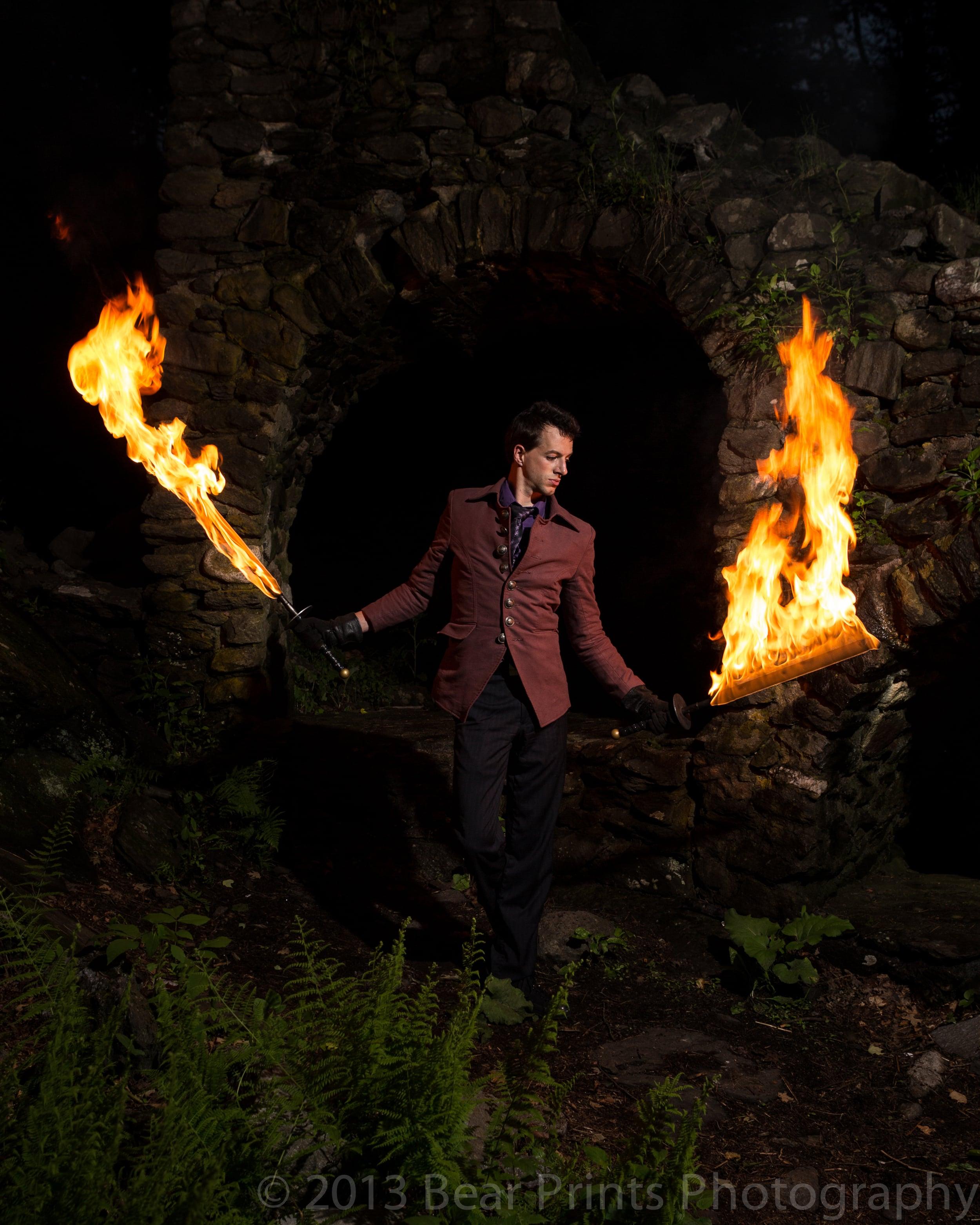 Fire Performance, Swords