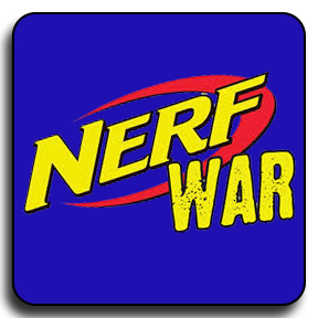 NERF DART WAR PARTY