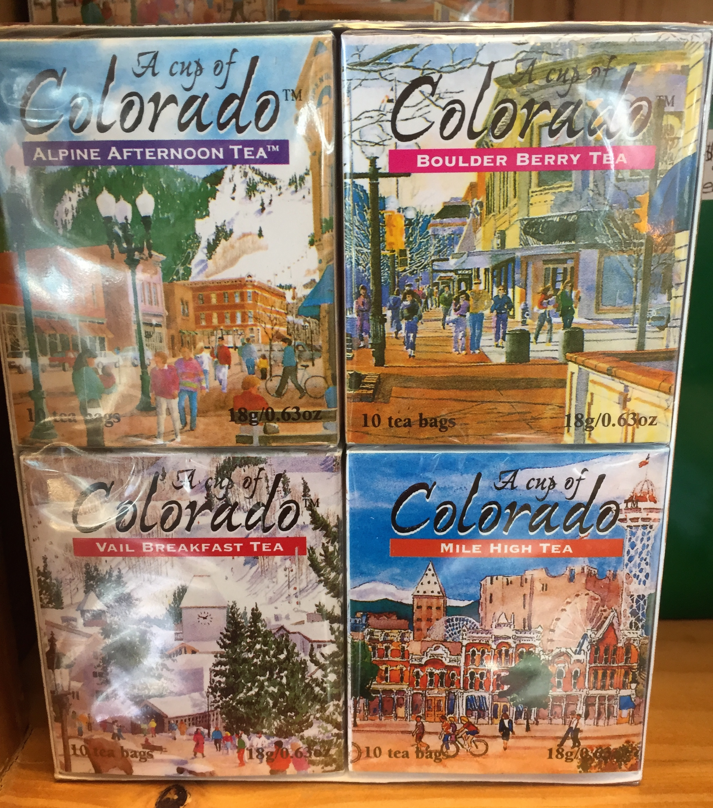 If your house sitter is a tea drinker, a mug and some tea from Colorado could make the perfect gift!