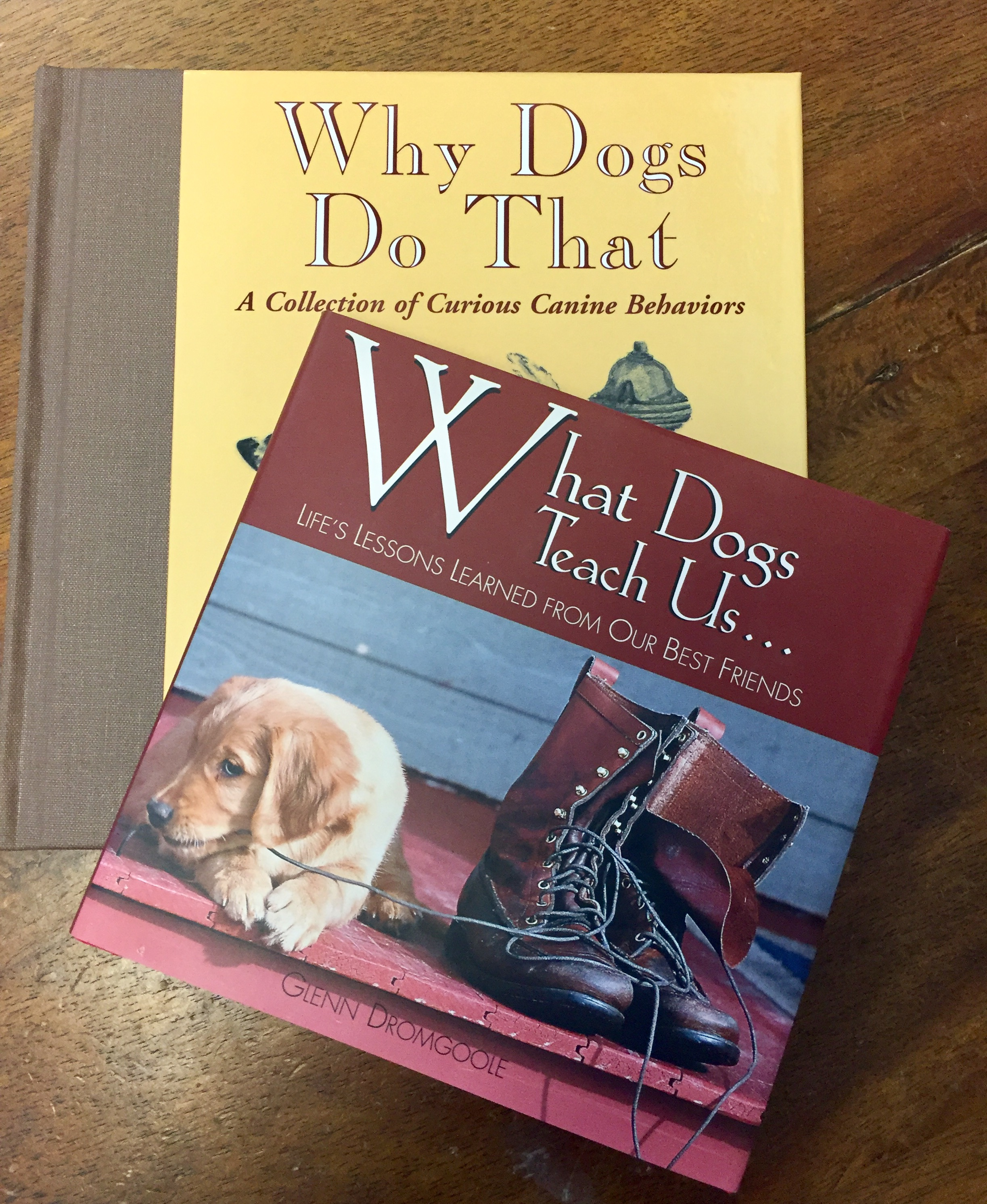 We also have dog books!