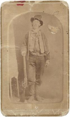 Billy the Kid Original CDV