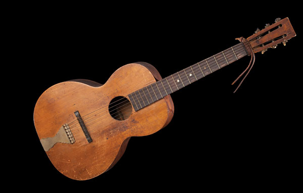 C.B. Irwin's Guitar that he Purportedly Played at Tom Horn's Hanging.