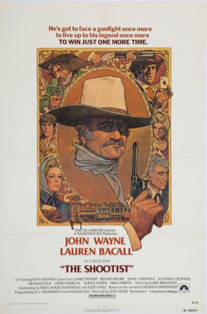 """The Shootist"" Finished Poster"