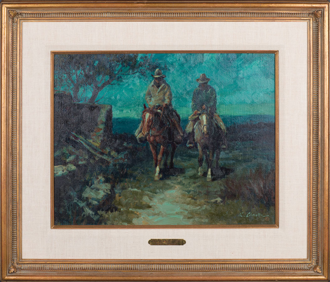 Lot 82 - Keith Christie (b. 1935)  Sold $708