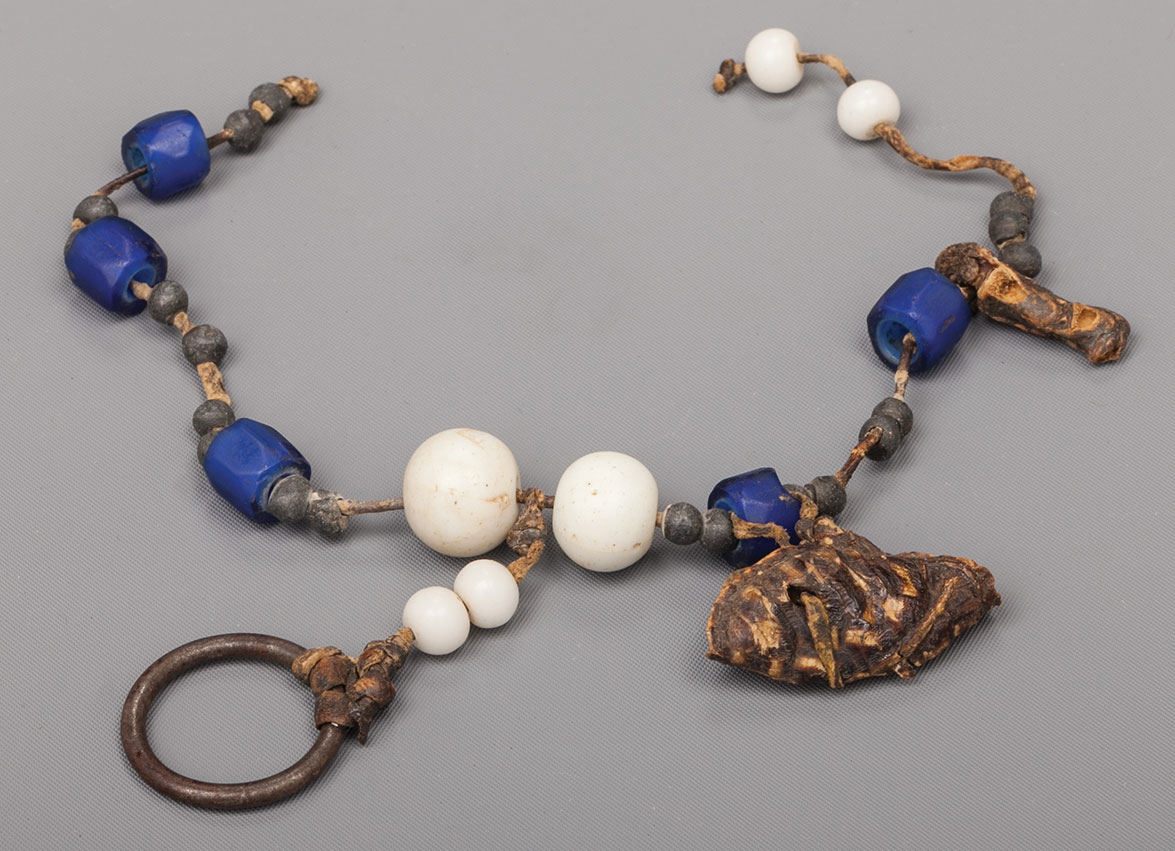 Relic condition necklace that belonged to Geronimo. Estimate $20,000-30,000.