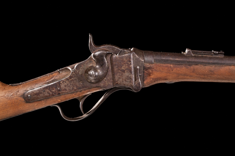 Indian-used Sharps from Custer's Last Stand - Sold $258,750