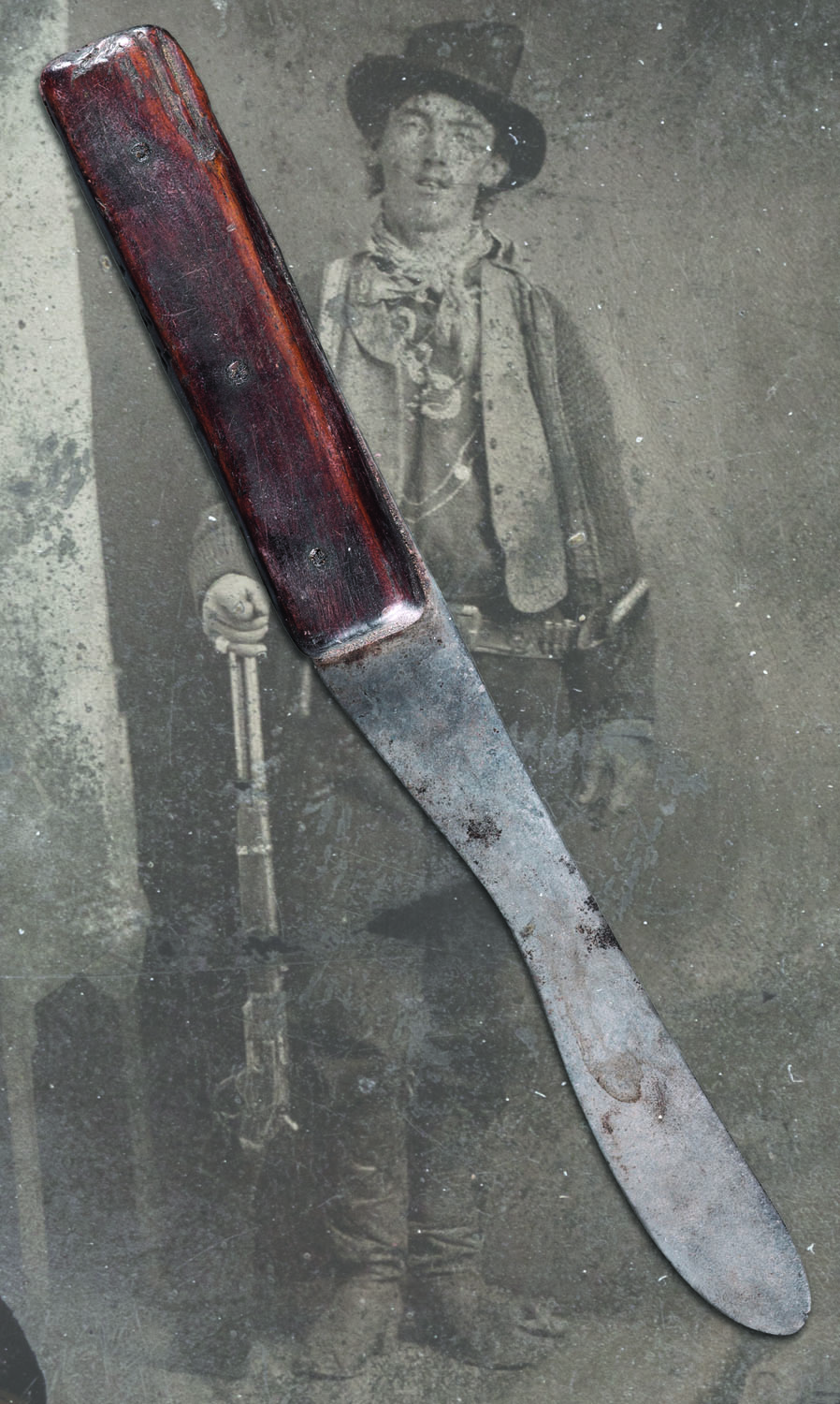 The Billy the Kid Knife - Lot 640