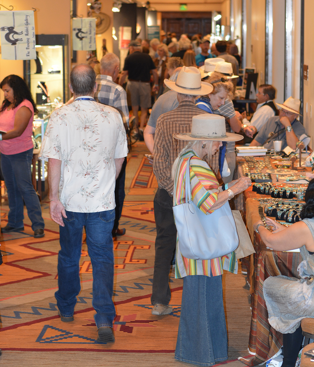 2018 Cody Old West Show Santa Fe Shoppers