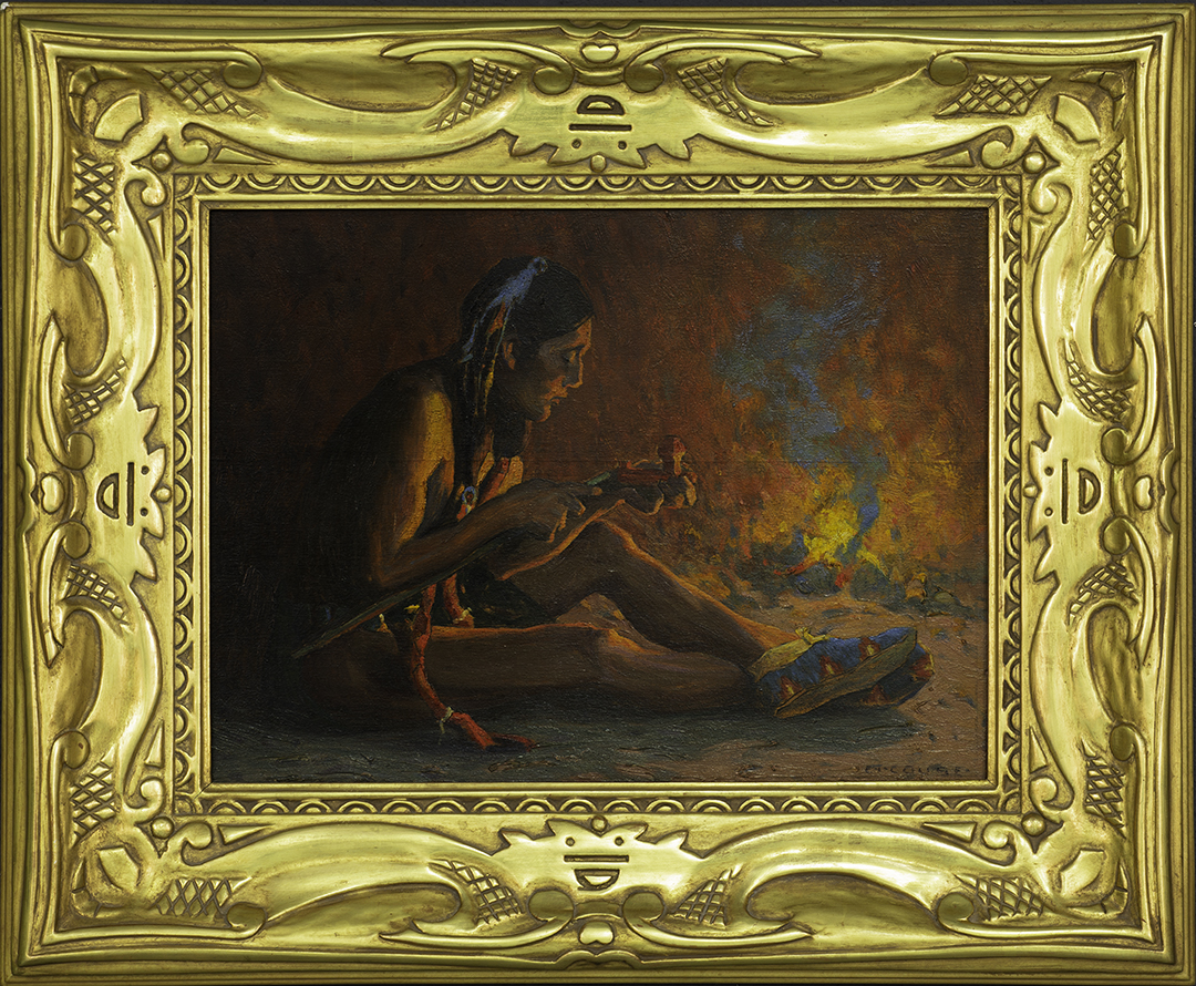 Eanger Irving Couse oil painting; estimate $125,000-150,000.