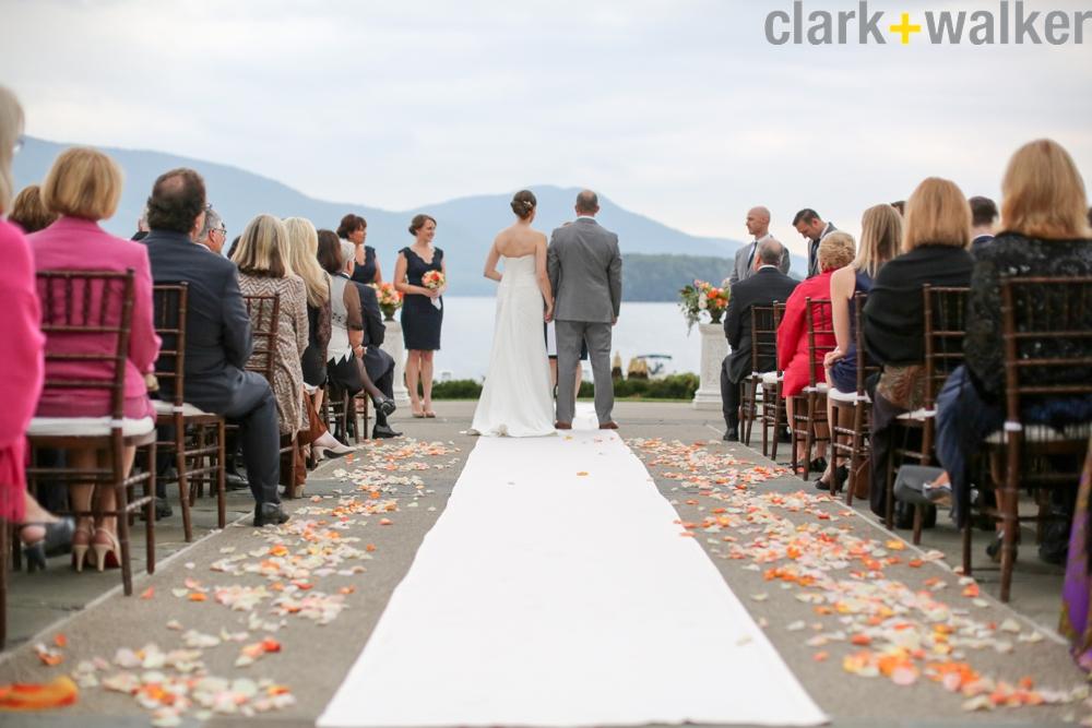 The Sagamore Colorful/ Nautical Waterfront Wedding