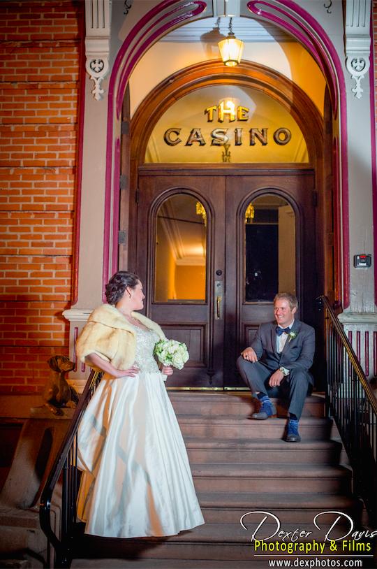 The Canfield Casino Fun/ Classic Winter Wedding