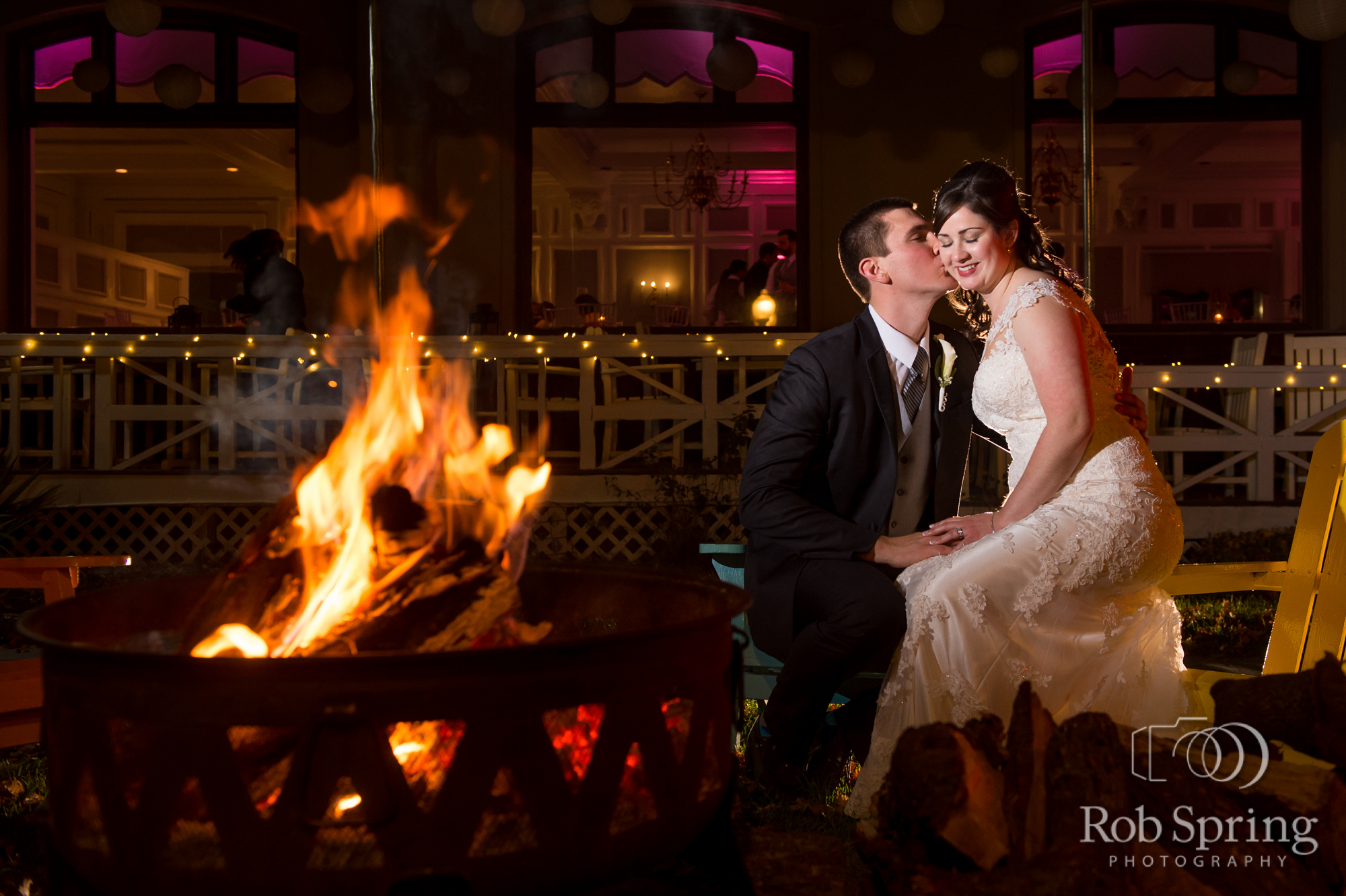 Fort William Henry Chic/ Intimate Fall Wedding
