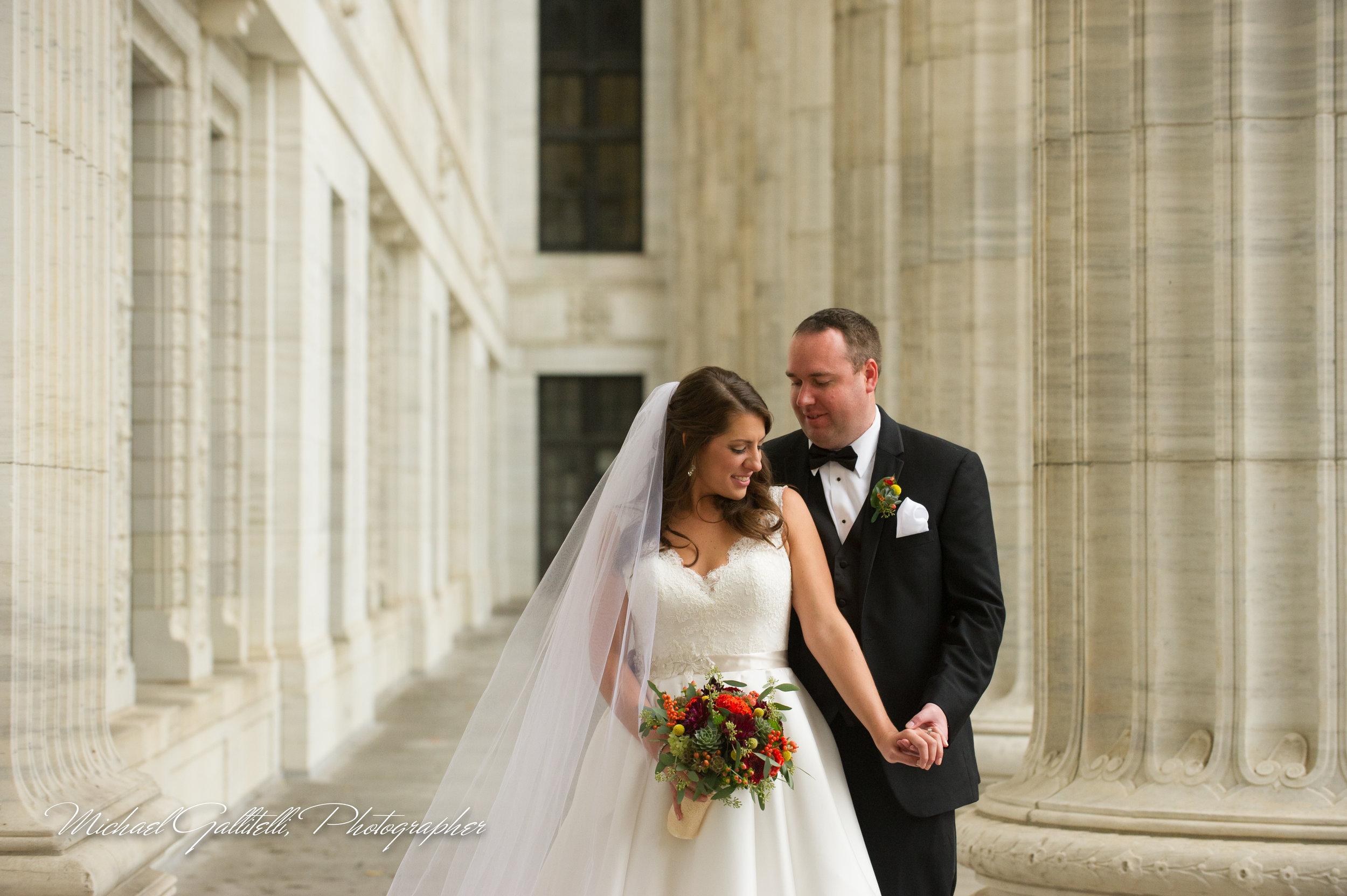 State Street Elegant/ Romantic Fall Wedding