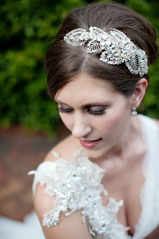 Jenny Packham headpiece and dress via stylemepretty.com.jpg