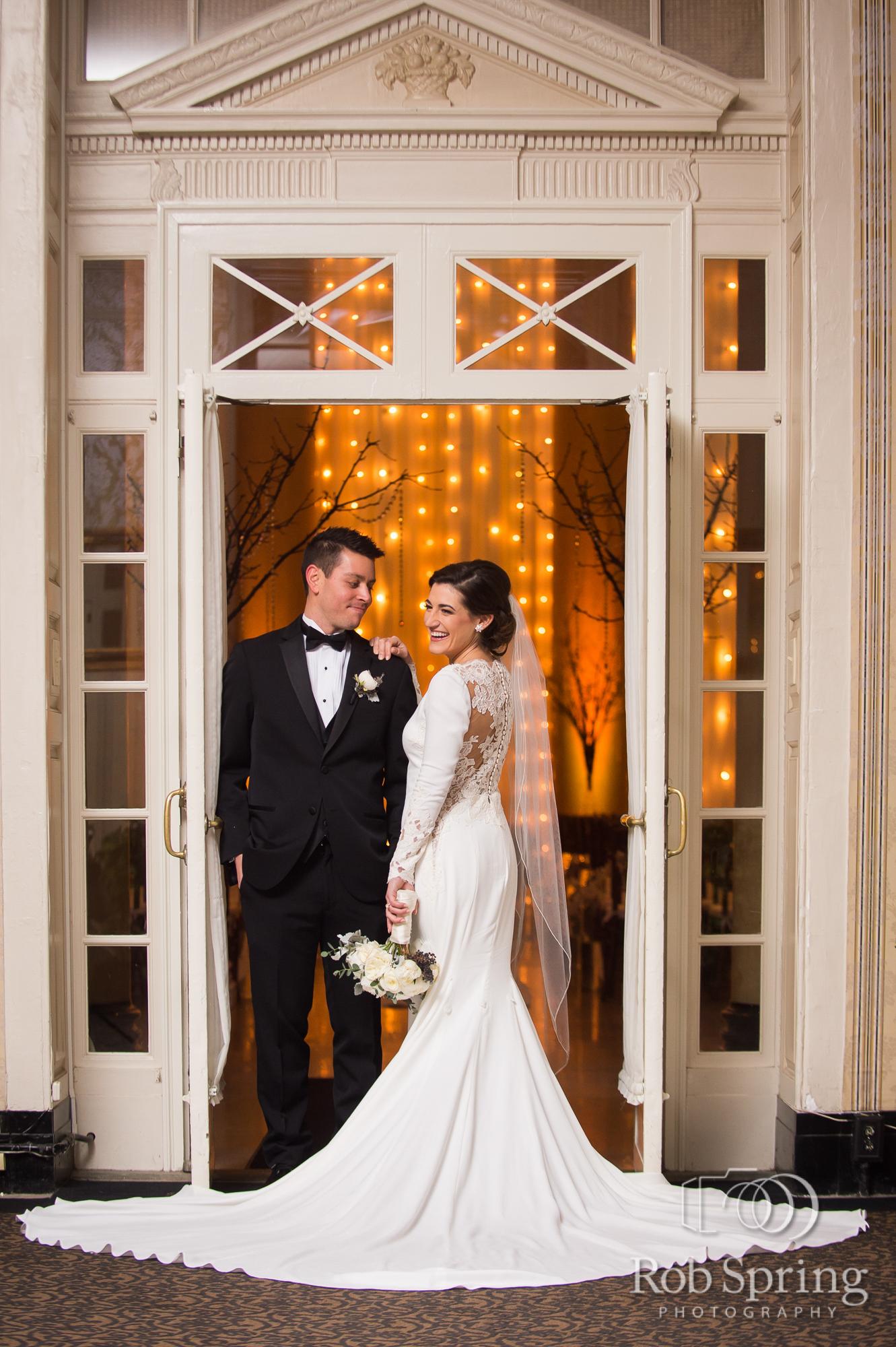Hall of Springs Classic/Intimate NYE Wedding