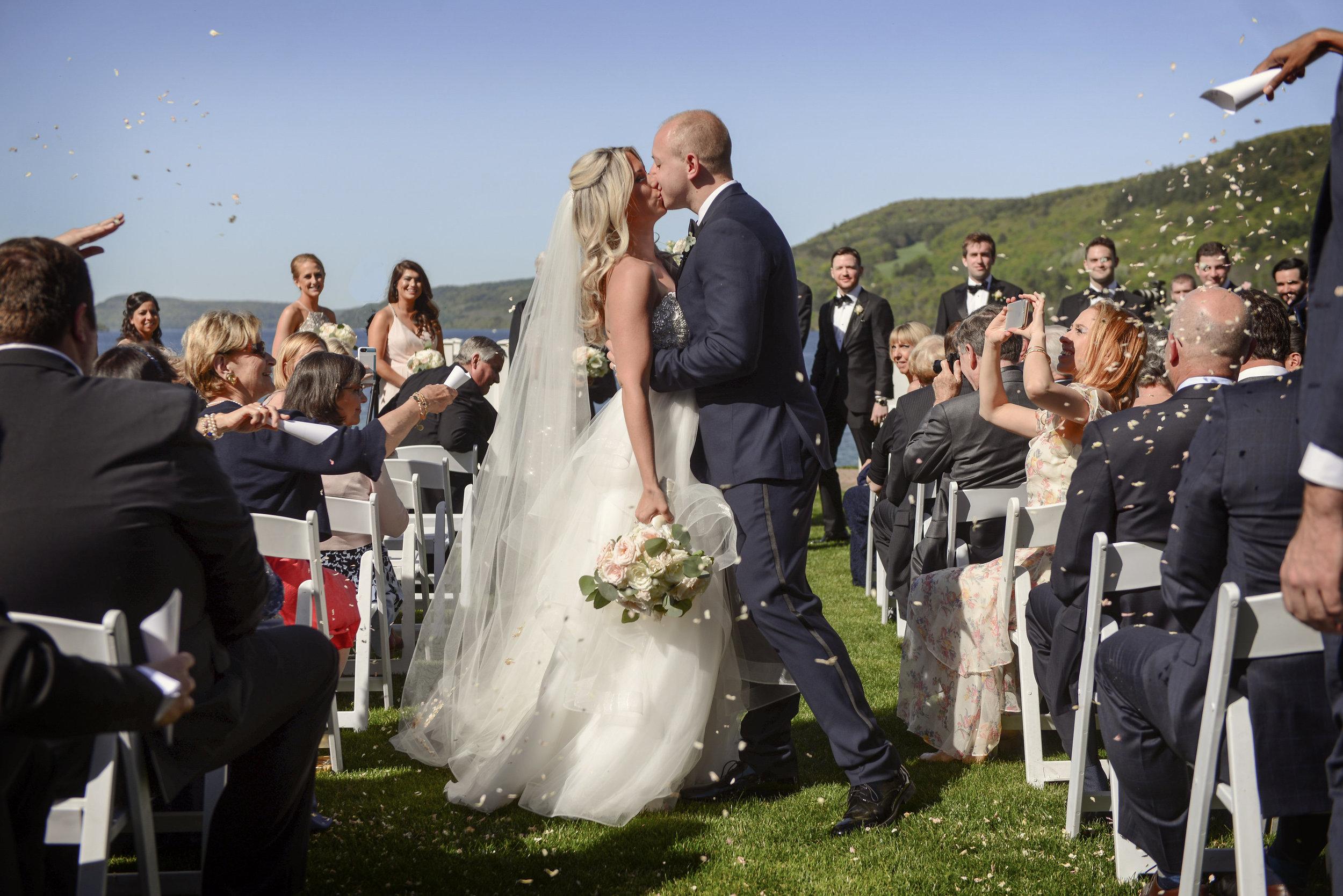 Otesaga Resort Hotel                                                  Sophisticated/ Elegant Summer Wedding