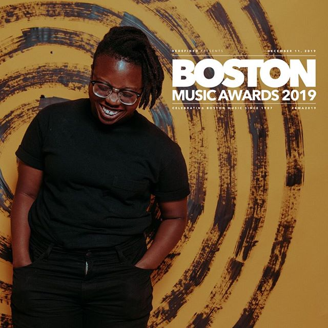 oh shit I got nominated for two @bostonmusicawards this year -  singer/songwriter of the year & folk artist of the year ! Coooooool yo 👵🏾vote for your favs @ bostonmusicawards.com/vote 🤷🏾♂️🙋🏾♂️💆🏾♂️// 📷: @allyschmaling