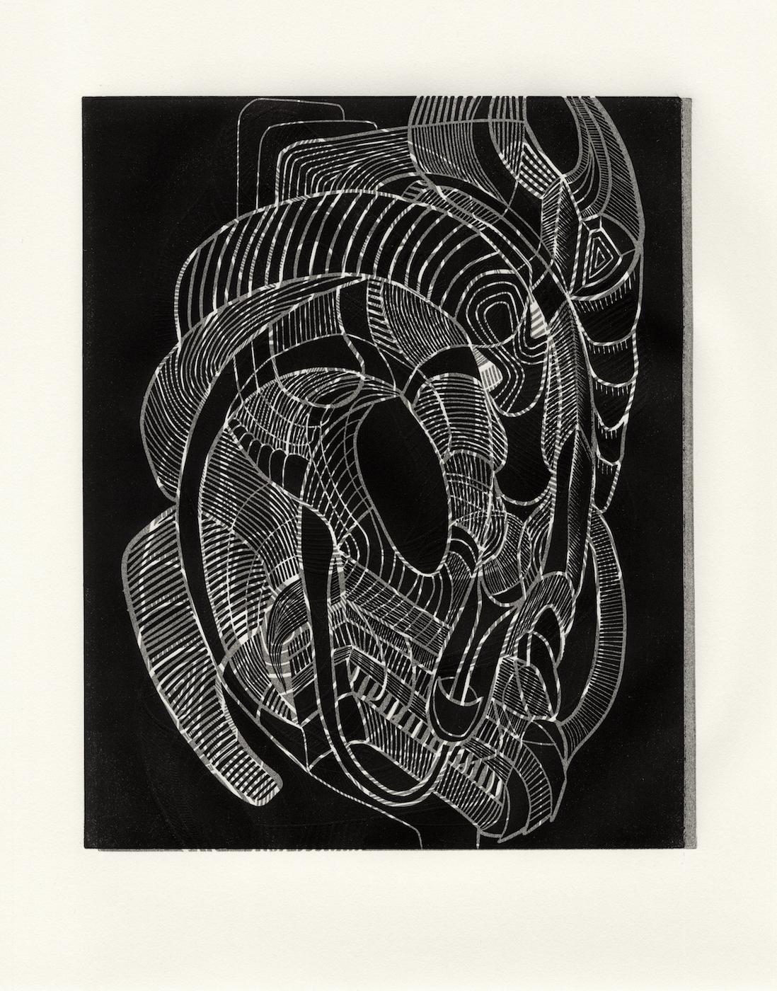 Linocut 4- Double Print
