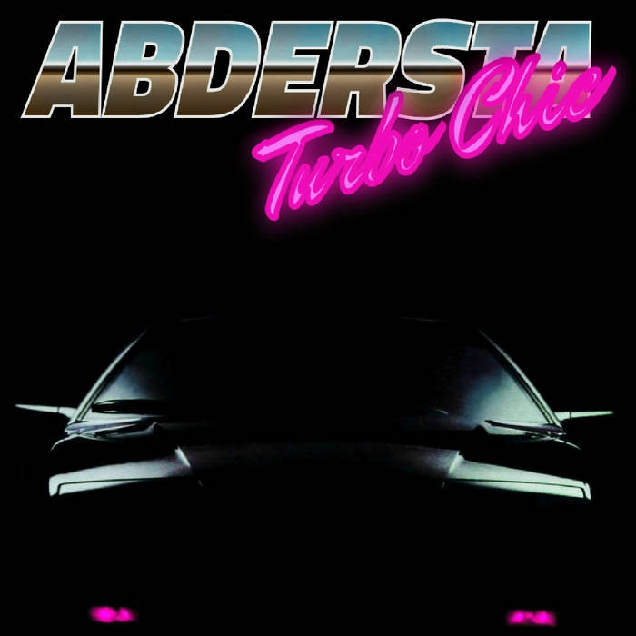 """ABDERSTA - """"Turbo Chic""""  (Power_Lunch Corporation)    This funky slice of vapor cake has got the slowed down thud and blissfully repurposed vintage music that you were looking for. Cut yourself a piece and make sure to get a taste of that sweet audio frosting.  You've got to go to work? Relax.There's nothing else productive happening today. You are going for a drive in the super hot convertible that you suddenly and inexplicably own.  Too cold where you live? Guess again. It's a bright sunny day, and the breeze is coming through those palm trees on either side of the road just enough to make them rustle gently as you speed past them, lost in these bodacious beats.  You don't want to go out all alone? Please. All the beautiful people on the boardwalk are going to notice you in your shiny new ride, blasting these tunes from the planet V Funk. You are likely to make a lot of new friends today. You lucky dog.  powerlunch.bandcamp.com/album/turbo-chic"""