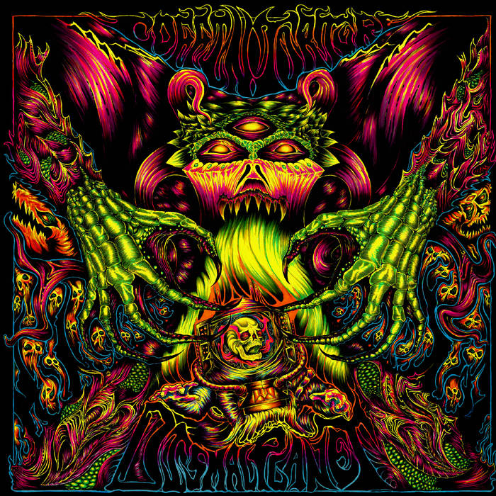 """[ALBUM OF THE MONTH] COFFIN TORTURE - """"Dismal Planet""""  (The Sludgelord)  Doom metal denizens of the underworld,  Coffin Torture , once again climb out of their subterranean lair in Westminster, South Carolina to unleash another barrel full of radioactive sludge on the unsuspecting populace. In a virulent outbreak of barbarically oozing molten metal, over-powered, over-gained, over-loaded overlords Thorfinn and Blind Samson want to slowly drag you over every square foot of the  Dismal Planet .  This latest release is every bit as raw and powerful as previous releases from the band, however  Dismal Planet  raises the bar with a tighter, more focused sound that is so toxic, no avenger can mop it up. It is hard to fathom that this level of skull-crushing domination could be delivered by just two members: Thorfinn, the voice of desolation, delivers a guttural growl that is a war cry for doom enthusiasts and sludge-heads from every corner of this forsaken globe, while releasing a pummeling assault from his tuned-down, demonic guitar. Blind Samson hammers at the hellish forge with blood-drenched drumsticks, creating a marching beat for the vile armies of metal craving fiends.  Overall, this relentless release is both cruel and unusual, and whether you stand for or against this metal fury, know that deep below your feet in some insufferable cavern, scores of winged, horned beasts are beating their cudgels into the volcanic earth awaiting their opportunity to march across the  Dismal Planet , and this record will likely be their anthem.     coffintorture.bandcamp.com/album/dismal-planet     Gray Lee"""
